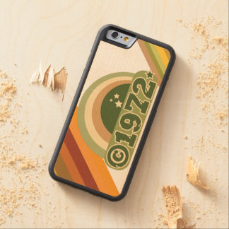 Copyright 1972 - Wood Phone Case Carved® Maple iPhone 6 Bumper