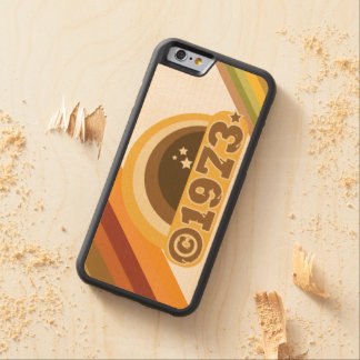 Copyright 1973 - Wood Phone Case Carved® Maple iPhone 6 Bumper Case