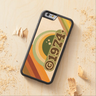 Copyright 1974 - Wood Phone Case Carved® Maple iPhone 6 Bumper
