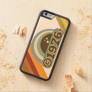 Copyright 1976 - Wood Phone Case