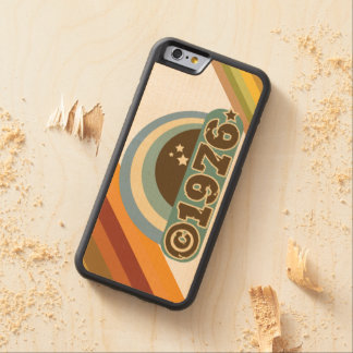 Copyright 1976 - Wood Phone Case Carved® Maple iPhone 6 Bumper
