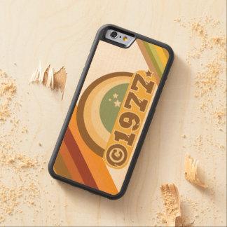 Copyright 1977 - Wood Phone Case
