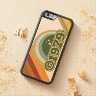 Copyright 1979 - Wood Phone Case Carved® Maple iPhone 6 Bumper