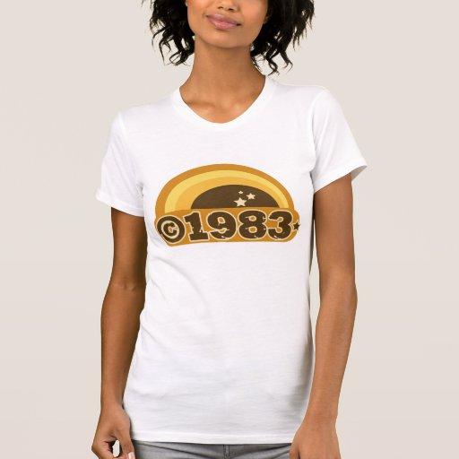 Copyright 1983 tee shirt