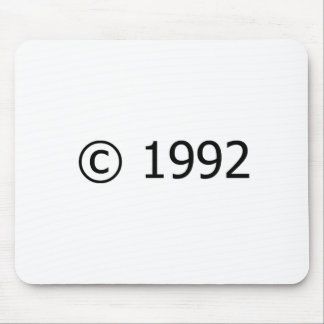 Copyright 1992 mouse pads