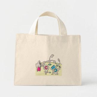 copyright_copyleft mini tote bag