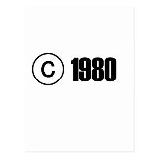 Copyright el an o 80 postal
