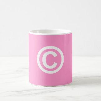 Copyright Logo Coffee Cup Mug