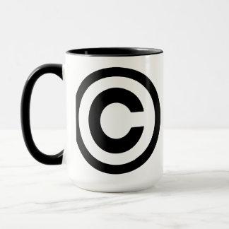 Copyright Mug