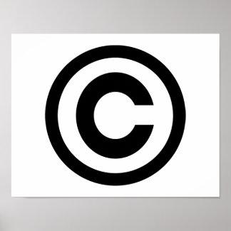 Copyright Poster