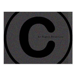 Copyright su materia #2 postales