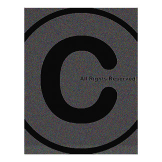 Copyright your stuff #2 letterhead