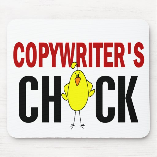 Copywriter's  Chick Mouse Pads