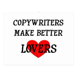 Copywriters Make Better Lovers Postcard