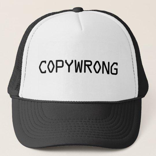 Copywrong Trucker Hat