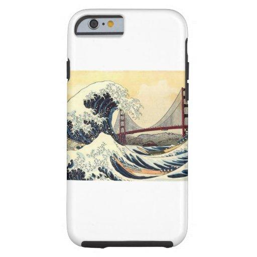 coque la grande vague de kanagawa tough iPhone 6 case