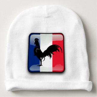 Coquelet drapeau baby beanie