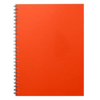 Coquelicot Spiral Notebook
