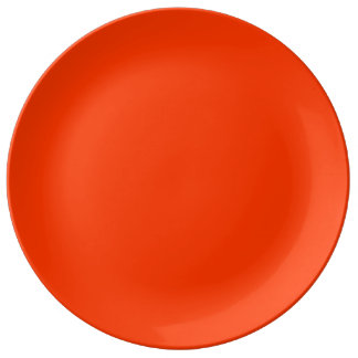 Coquelicot Red Plate