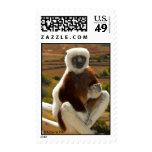 Coquerel's Sifaka, Madagascar Postage Stamps