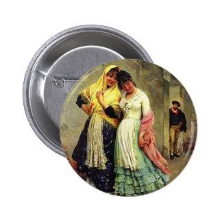 Coqueteo de Eugene de Blaas- The Pin