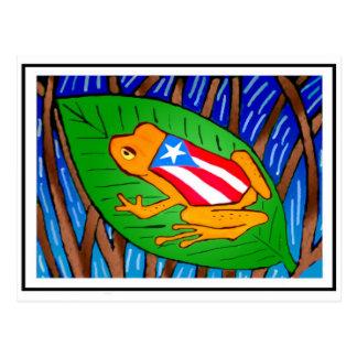 Coqui-bandera Postal