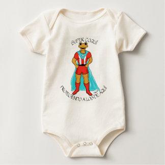 Coquí estupendo body de bebé