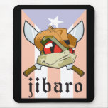 Coqui frog with Puerto Rican Flag Mouse Pad