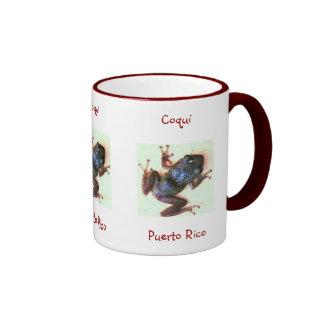 Coqui Puerto Rico Mug