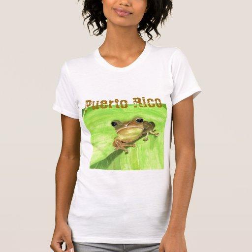 Coqui Puerto Rico Polera