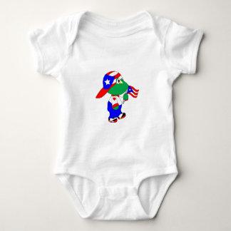 Coqui Puerto Rico Pride Baby Bodysuit