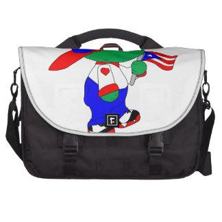 Coqui Puerto Rico Pride Computer Bag