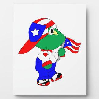 Coqui Puerto Rico Pride Plaque