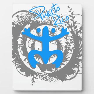 Coqui Taino Puerto Rico Plaque