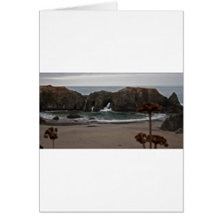Coquille Point Arches, Oregon Card