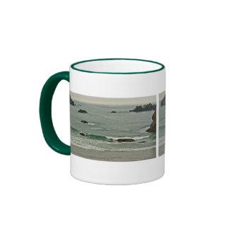 Coquille Point, Bandon, Oregon Ringer Mug