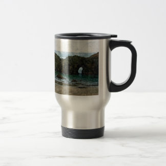 Coquille Point, Oregon in Summer Coffee Mug