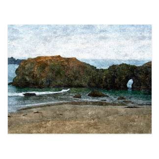 Coquille Point, Oregon in Summer Postcard
