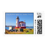 Coquille River Lighthouse - Bandon, Oregon Stamps