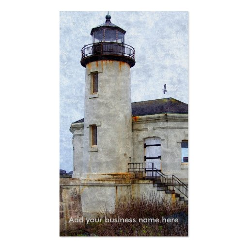 Coquille River Lighthouse Business Card
