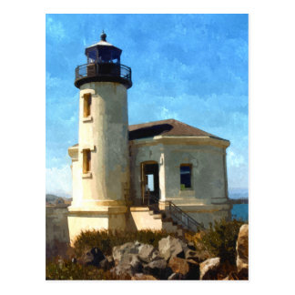 Coquille River Lighthouse, OR Postcard