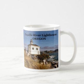 Coquille River Lighthouse, Oregon Mug