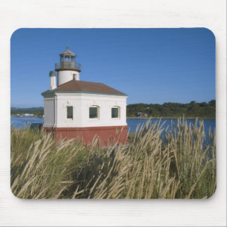 Coquille River lighthouse, Oregon, USA Mouse Pad
