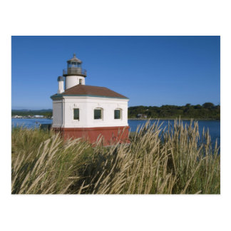 Coquille River lighthouse, Oregon, USA Postcard