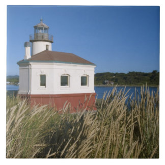 Coquille River lighthouse, Oregon, USA Tile