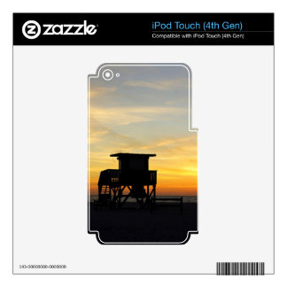 Coquina Shack Skin For iPod Touch 4G