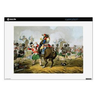 Coraceros franceses en la batalla de Waterloo, car Calcomanías Para Portátiles
