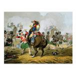 Coraceros franceses en la batalla de Waterloo, car Postales