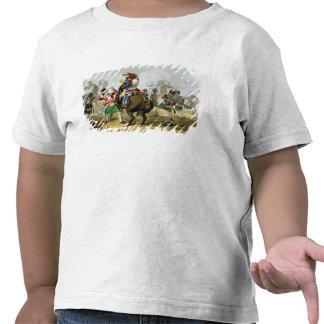 Coraceros franceses en la batalla de Waterloo, Camiseta