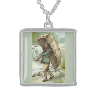 Coracle Fisherman Neckwear Sterling Silver Necklace